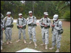 GSU ROTC Training Leaders