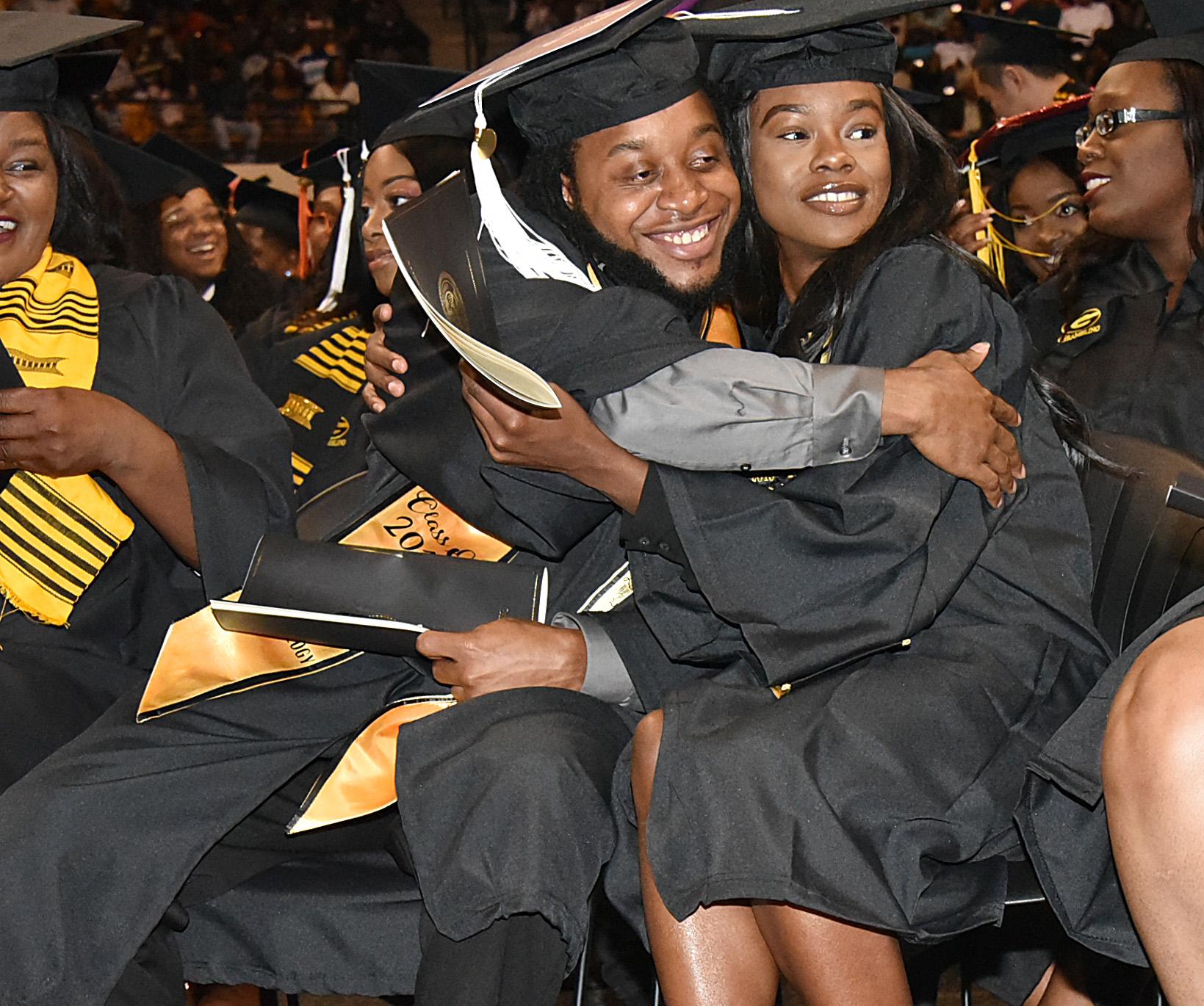 hug a grad