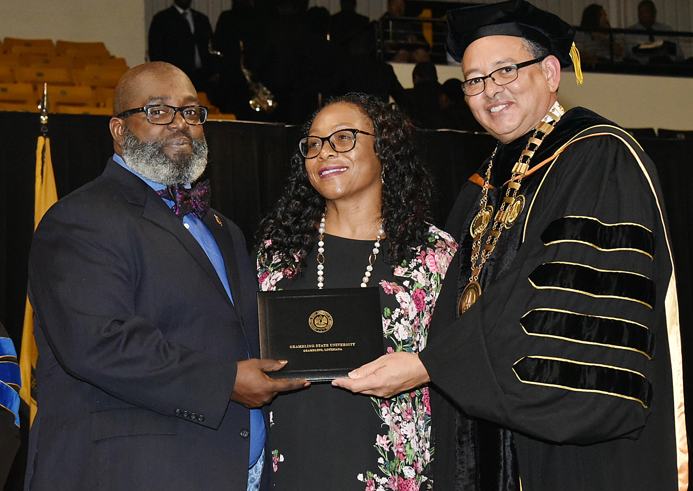 posthumous degree for alexis johnson
