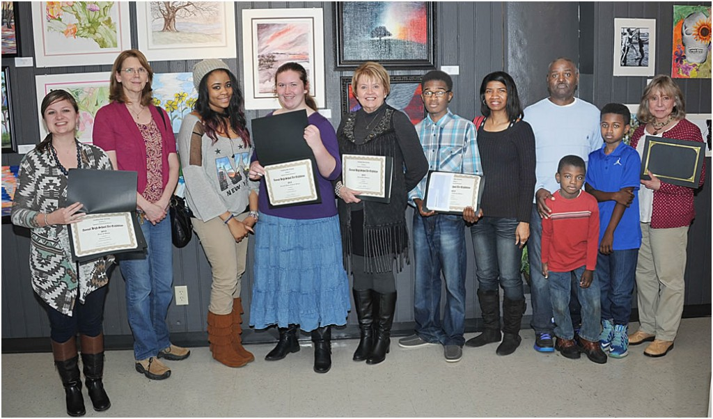 Grambling State University Announces Winners of North Louisiana High School Art Show