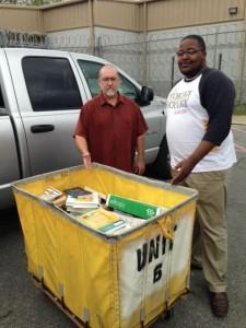 GSU Donates Books to Richwood Correctional Center Library