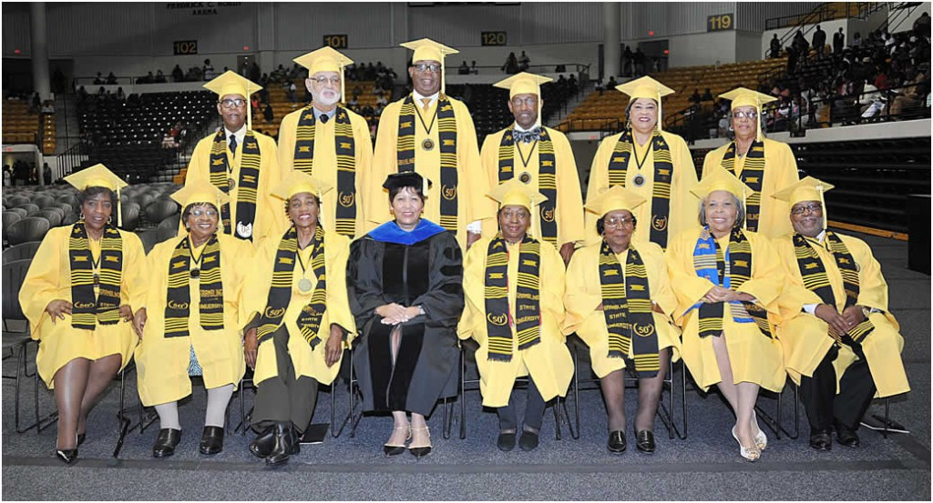 50th Anniversary Grads Spring 2015 PR Photo