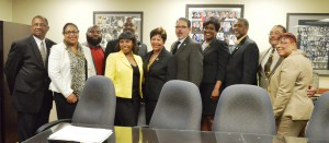 Grambling State Officials and Supporters Meet with Legislators to Discuss Higher Education