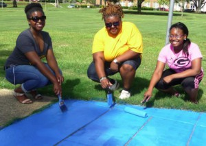GUNAA/GSU Community Service PR Photo - Summer 15