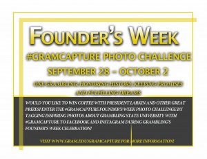 Founder's Week Photo Contest - Fall 2015