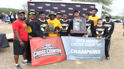 GSU Men's Cross Country Team Named 2015 SWAC Champions