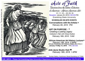 Grambling State University Opens Acts of Faith Exhibit