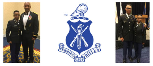 Grambling student selected as Deputy Regimental Commander for National Society of Pershing Rifles