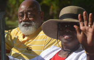 Grambling President Willie D. Larkin and Dr. Vivian Larkin in Cuba exploring educational collaborations for GSU
