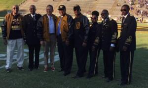 GSU Band Honors Retired SU Band Director