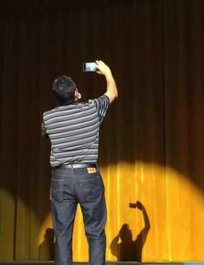 GSU President Gallot Selfie.