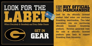Look for the Label! Trademark & Licensing at Grambling State University
