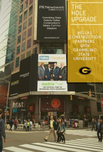 GSU in New York's Times Square