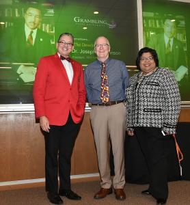 Pres. Rick Gallot, Dr. Mark Taylor, Dr