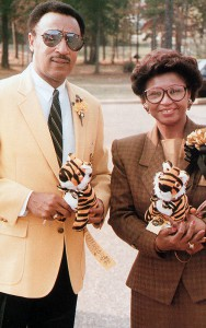 Dr and Mrs Johnson (former GSU President)
