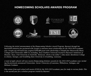 BeyGood HBCU Scholarships