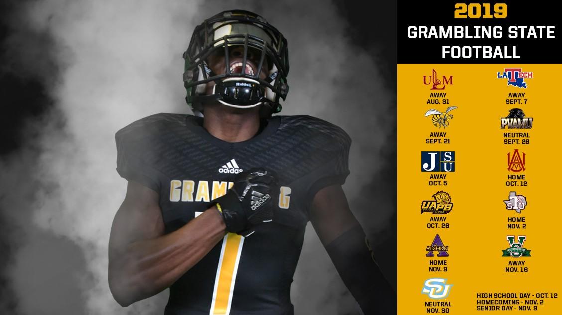 Grambling State University Grambling State Announces 2019 Football
