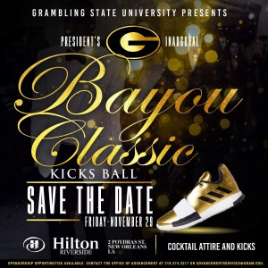 Bayou Classic 2019 Kicks Ball Flyer