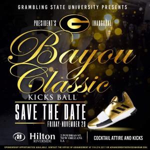 Bayou Classic 2019 Kicks Ball Flyer