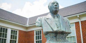 Charles P Adams bust